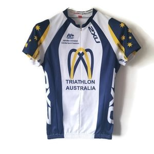 Triathlon Australia top jersey sz Small
